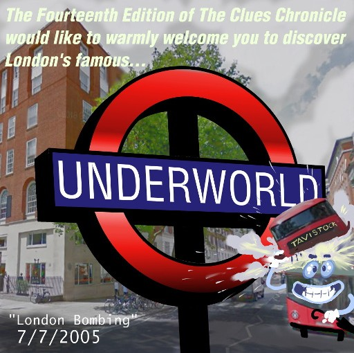 Issue 14: Hi, 'London 7/7 Fake Terror'